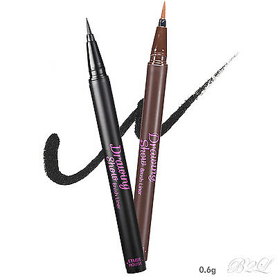 [ETUDE HOUSE] Drawing Show Brush Eyeliner 0.6 g (2 colors) /smooth, clean lines