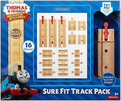 Fisher-Price Toy - Thomas and Friends Wooden Railway - Sure Fit Track Pack
