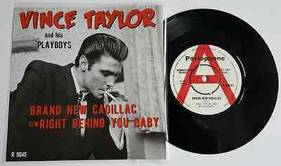 "Vince Taylor-""right Behind You Baby"" & ""brand New Cadillac"" Hear Both"
