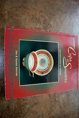 Identification/price Guide Book On Cups An Saucers