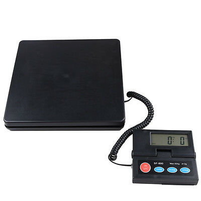 110lb 50kg Digital Scale Parcel Letter Postal Weighing Kitchen Scales Platform