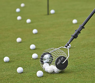 Roll-in Bag Buddy Golf Ball Collector - £34.99 - Free Uk Carriage