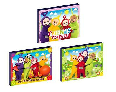 3 x TELETUBBIES CANVAS ART BLOCKS/ WALL ART PLAQUES/PICTURES