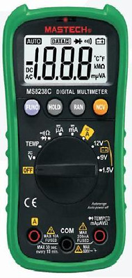 MS8238C Multimeter Digital MASTECH Profi Autorange Batterietest NCV Temperatur