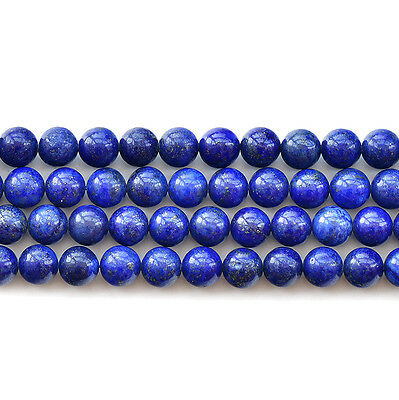 Synthetic Lapis Lazuli Gemstone Round Beads 15.5'' 6mm 8mm 10mm 12mm