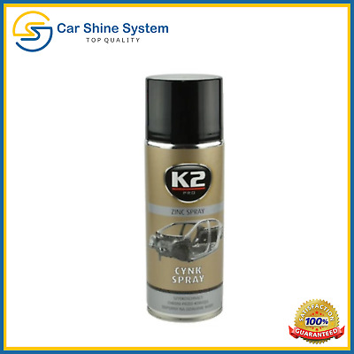 K2 Zinc High Temperature Galvanising Primer Spray Anti Corrosion Rust 400 mL