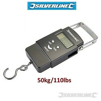 0-50kg Digital Spring Pocket Size Electronic Balance Weight Scale Scales 110Lbs