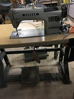 Singer Consew antique industrial sewing machine