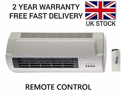Futura 2Kw Air Curtain Over Door Electrical Fan Heater Warm Cool 2000W