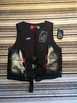 Colman Ski Vest with Built in Radio with Receiver XXL