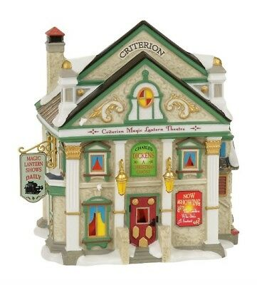 Dept 56 Dickens Village Criterion Magic Lantern Theatre BRAND NEW 2017 Free Ship