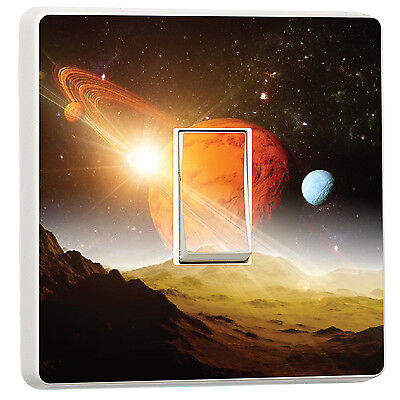 Space and Planets Saturn Rings Solar System light switch photo (19033839) Space