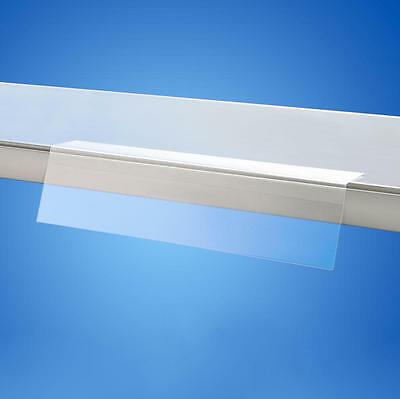 Shelf Talker Price Holder Angled 148 x 73mm Self Adhesive Strip