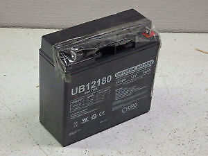 **New** Universal Battery UB12180 Replacement Battery