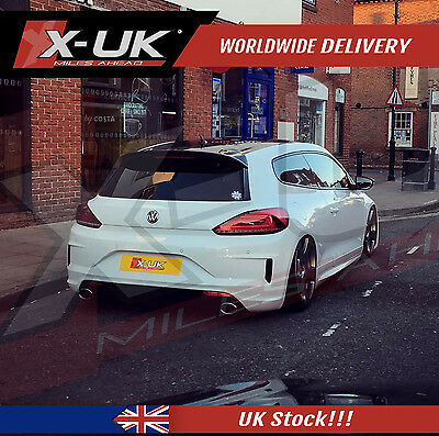 "REAR BUMPER CONVERSION FOR SCIROCCO R 2015+ ""Facelift"""