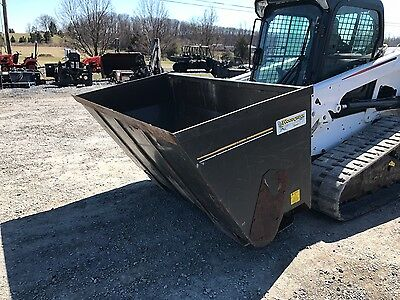 Becker 78HT Saw Dust Shooter Attachment for Skid Steer Loaders.