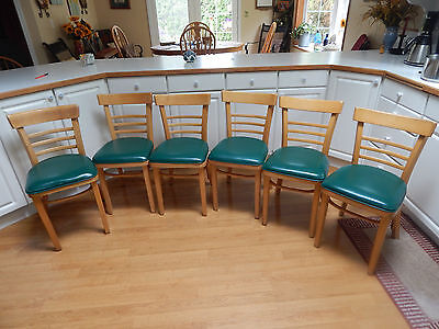 Vtg mid century kitchen dining chairs  Thonet  style set 6 Portland OR, P/U