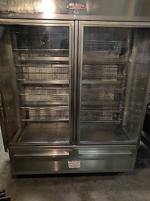Old Hickory Rotisserie N45Wdg, Continuous Rotisserie Merchandiser Oven, Bbq