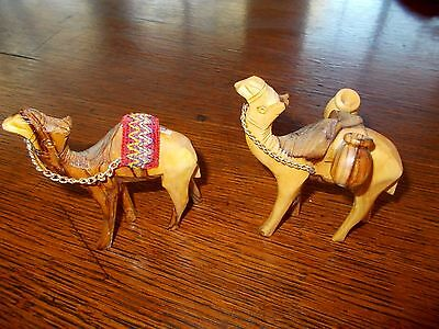 wooden figurines Camels Quality