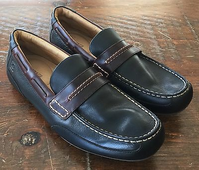 Men's Size 10.5 Sperry Top-Sider Navigator Leather Loafers Slip On Shoes