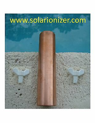 Replacement Solid Copper Anode Bar for Solar Ionizers - fits many brands