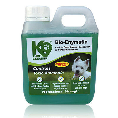 K9 Turf Bio-Enymatic Artificial Grass Cleaner, Maintainer Controls Toxic Ammonia