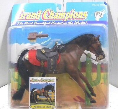 Grand Champions Appaloosa  Stallion Empire 50025 NIB Marchon Horse Figurine