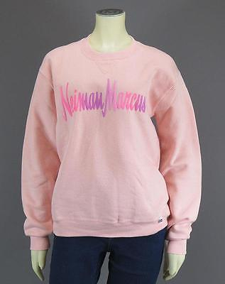 NEIMAN MARCUS - RUSSELL ATHLETIC Logo RARE Sweatshirt Vintage 80's Pink - Size S