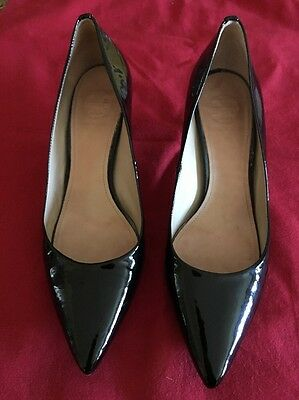 Tory Burch Patent Leather Heels Pointed Shoes 7.5 Pumps