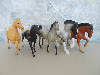 Lot 5 Breyer Paddock Pals Vintage ASB Drafter Clydesdale QH Arabian Stallions