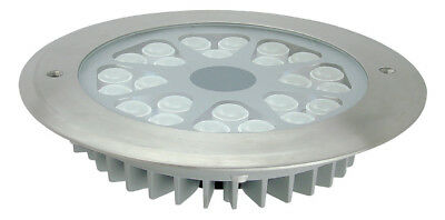 NEW FUSION 24W 24V Stainless Steel LED Inground Light