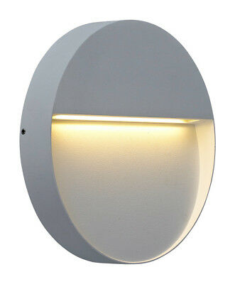 NEW ZEKE 9W Round LED Exterior Wall Light