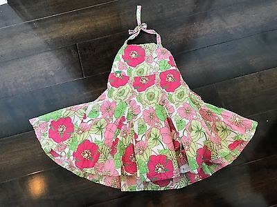 GapKids:  Girls 12-18 Months Pink and Green Halter Dress