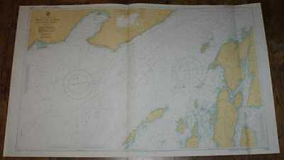 Nautical Chart No. 2386, Scotland - West Coast, Firth of Lorne. 1:25,000 1976