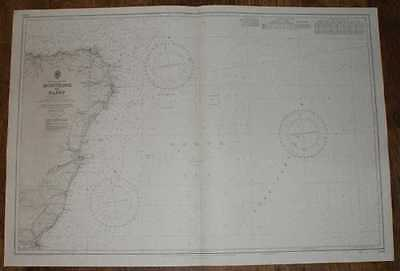 Nautical Chart No. 1409, Scotland; East Coast, Montrose to Banff. 1:200,000 1974