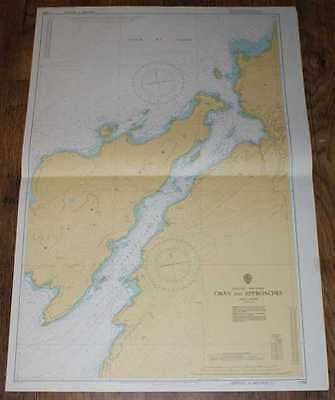 Nautical Chart No. 1790, Scotland - West Coast, Oban & Approaches, 1:10,000 1975