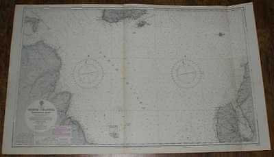 Nautical Chart No. 2199: British Isles - North Channel. 1:75,000. 1973