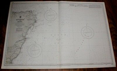 Nautical Chart: No. 1409. Scotland E Coast, Montrose-Banff, Scale 1:200.000 1973
