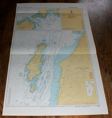 Nautical Chart No. 2475. Passages W Coast of Scotland, Gunna & Gigha. 1:25,000.