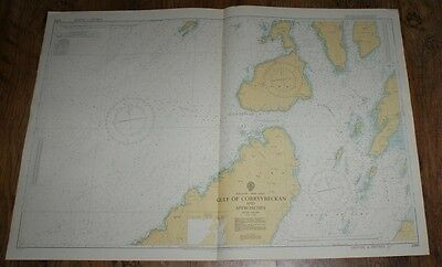 Nautical Chart No. 2343. Scotland West Coast. Gulf of Corryvreckan, 1:25,000