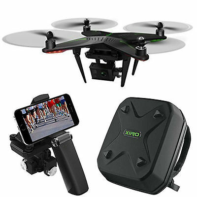 Xiro Xplorer G Quadcopter Aerial Drone w/3-Axis Gimbal for GoPro Deluxe Bundle