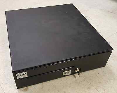 APG Cash Drawer, T400-BL1616 with Key and Till PK-15VTA-BX, 5 Bill x 5 Coin