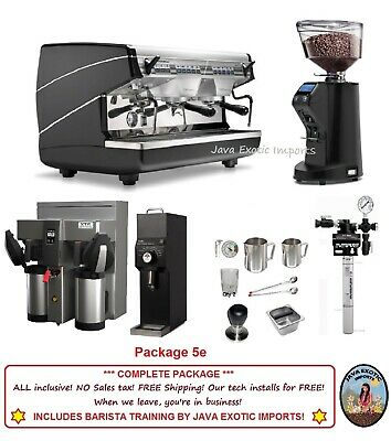 Simonelli Appia II Commercial Espresso Machine + Coffee Shop Package + Training!