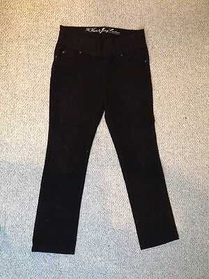 The Kate Juicy Couture Maternity Black Stretch Jeans Size 29