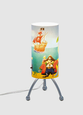 Quandt Table Lamp Pirates for Children Reading Light Boys Lamp Children Room