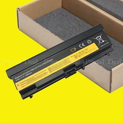 9 Cell Battery For Lenovo ThinkPad E40 E50 E420 E425 E520 E525 W520 42T4799