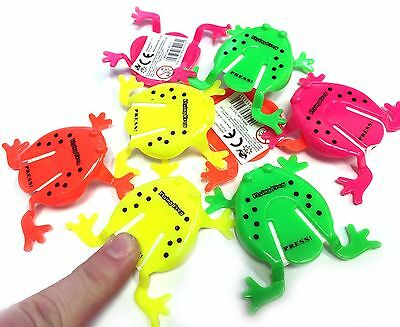 1 6 12 24 Jumping Frogs Tiddlywinks Toys Boys Girls Birthday Party Bag Fillers