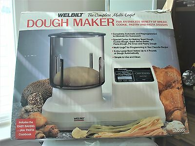 Dough Maker Welbilt Model DM 2000 Mixer Make Pasta Bread Cookies Pie Pizza
