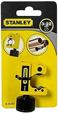 Stanley 070447 3 - 22mm Adjustable Pipe Cutter -Brand New