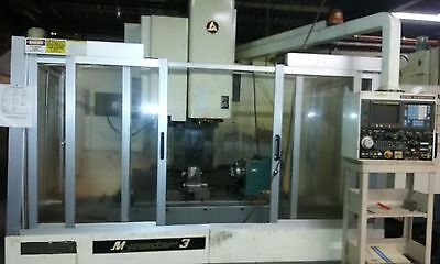 Kitamura Mycenter 3 CNC Vertical Machining Center with Rotary table 4 Axis